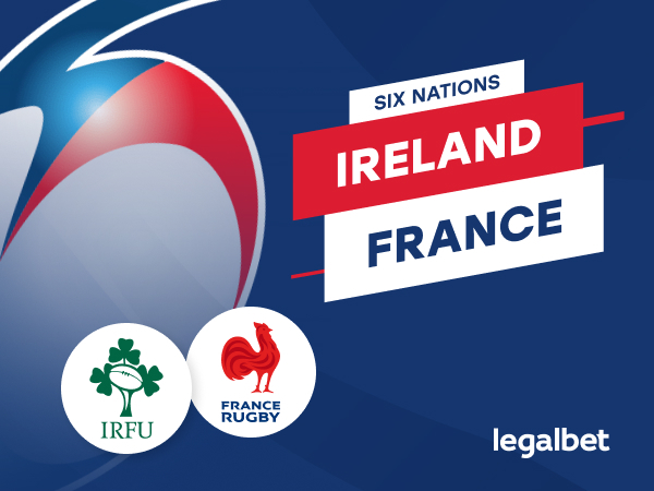 Legalbet.ng: Six Nations Rugby: Ireland vs France kicks off Sunday 14th Feb @ 15:00 GMT.