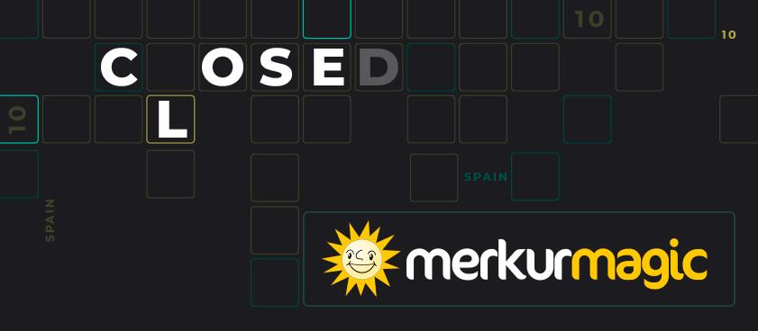 Merkurmagic no continuará operando en España desde el 9 de Octubre