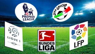 8 лучших Европейских команд в этот weekend.
