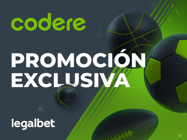 Legalbet.es: Promoción exclusiva Codere - ¡Supercuotas en La Liga!.