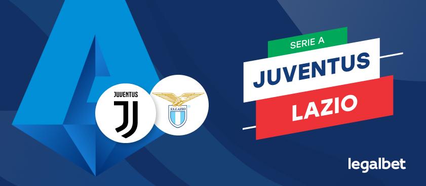 Apuestas y cuotas Juventus - Lazio, Serie A 2020/21