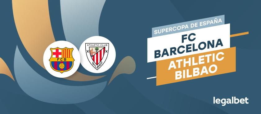 Apuestas y cuotas Barcelona - Athletic, Supercopa de España 2020/21