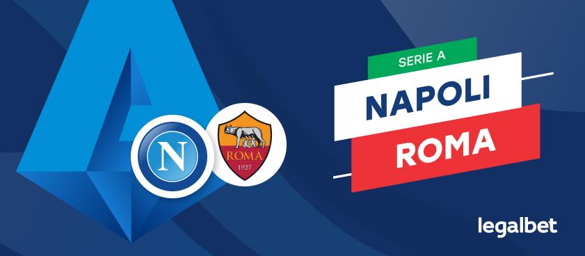 Apuestas y cuotas Napoli - Roma, Serie A 2020/21