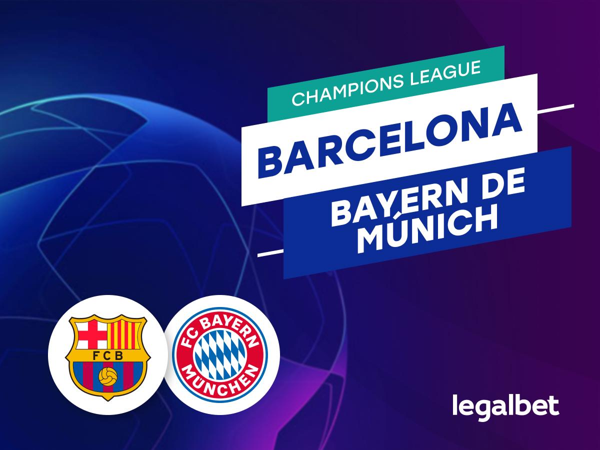 Antxon: Apuestas Barcelona - Bayern de Múnich.