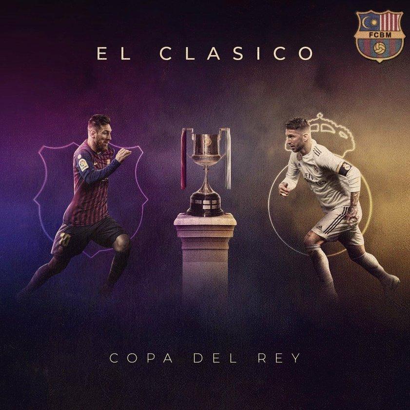 Полуфинал Кубка Испании,которого ждёт любой болельщик.