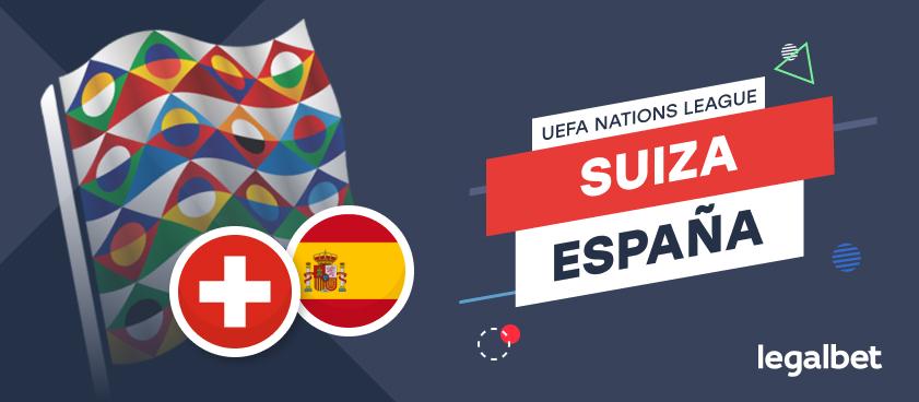 Apuestas y cuotas Suiza - España, Nations League 2020