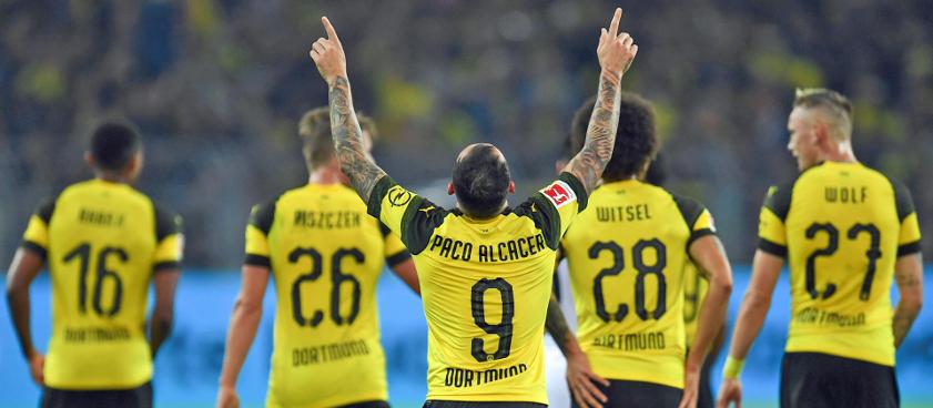 Pronóstico Borussia Dortmund - Friburgo, Manchester City - Bournemouth 2018