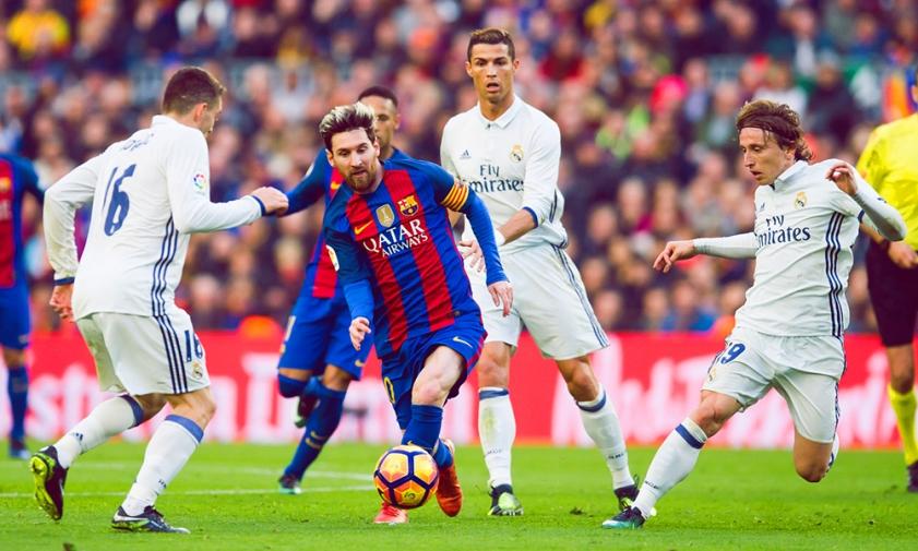 Эль-Класико в матче за Суперкубок Испании. Очередное противостояние Месси и Роналду