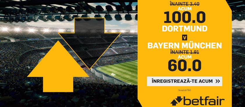 Cote INCREDIBILE de care trebuie sa profiti la meciurile din Bundesliga