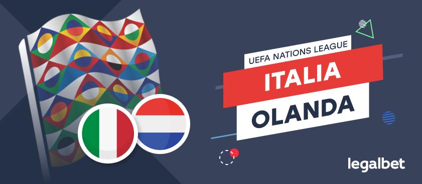 Italia - Olanda : cote la pariuri, ponturi şi informaţii
