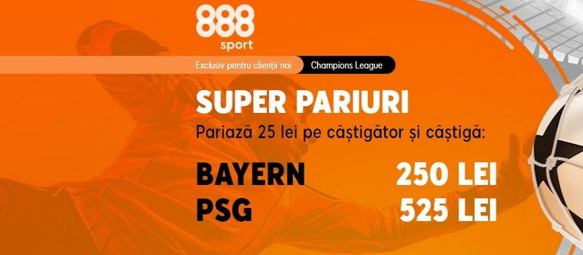"""PSG are o cotă uriaşă pentru a răpune """"monstrul"""" Bayern în sferturile Champions League!"""