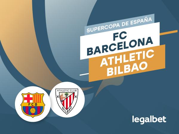 Antxon Pascual: Apuestas y cuotas Barcelona - Athletic, Supercopa de España 2020/21.