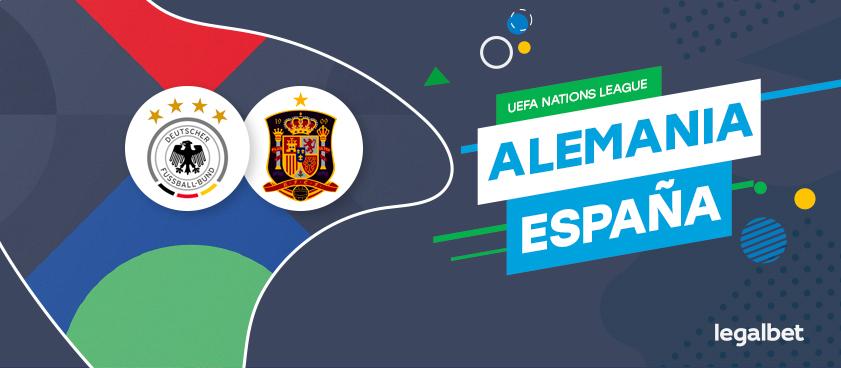 Previa, análisis y apuestas Alemania - España, UEFA Nations League 2020