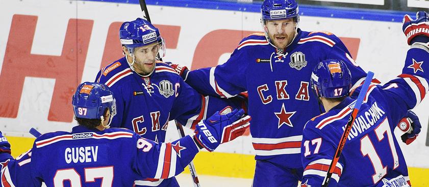Хоккей. «СКА» - «Северсталь». Прогноз от Arkadiy_bets