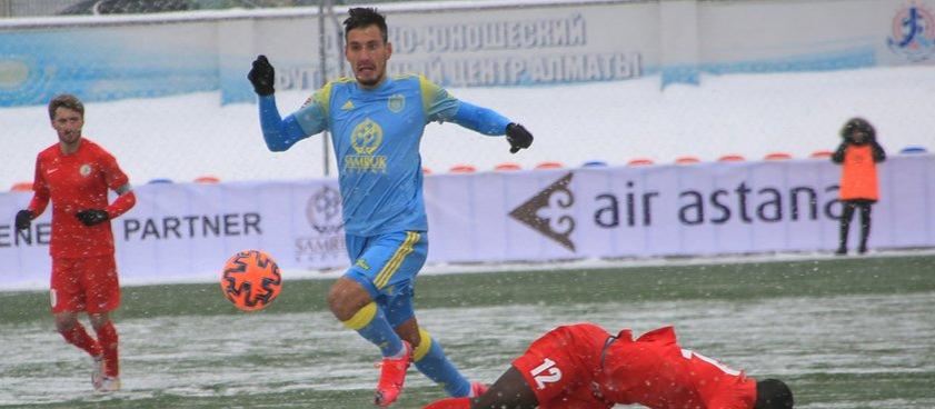 «Астана» - «Ордабасы»: на ужасном поле команды сыграют в «низовой» футбол