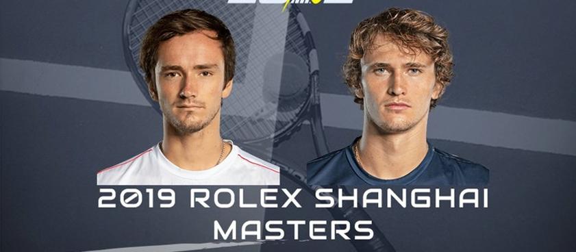 Кто главный герой Next Gen? В финале Мастерса в Шанхае встретятся Даниил Медведев и Александр Зверев