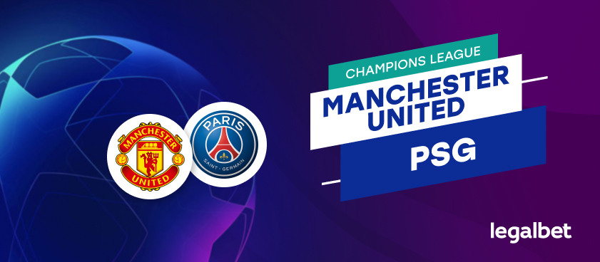 Apuestas y cuotas Manchester United - PSG, Champions League 2020/21