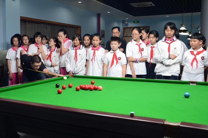 Snowball Snooker. International Championship. Day 4