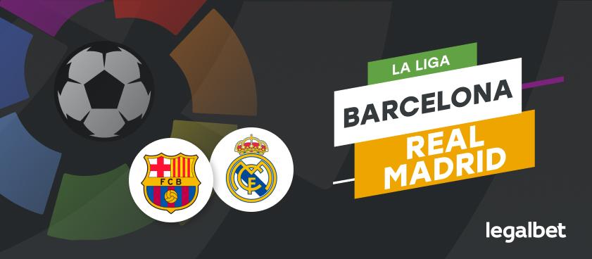 Barcelona - Real Madrid - ponturi la pariuri El Clasico
