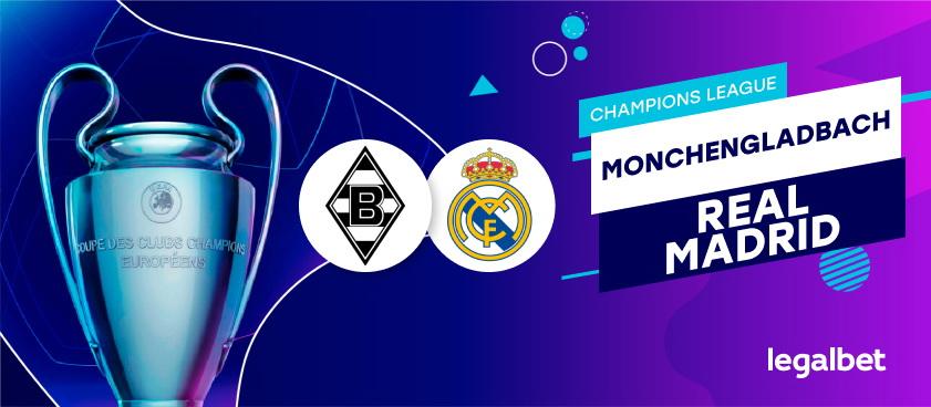 Monchengladbach – Real Madrid: analiza si ponturi pariuri