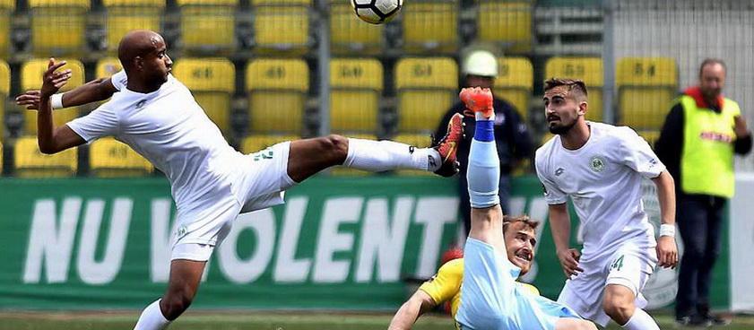 Juventus București - Concordia Chiajna (play-out). Pontul lui Karbacher