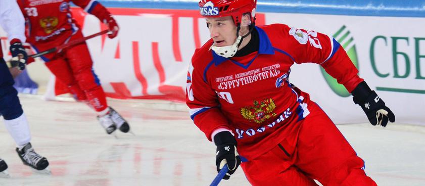 Хоккей с мячом. Россия - Германия. Прогноз от Arkadiy_bets