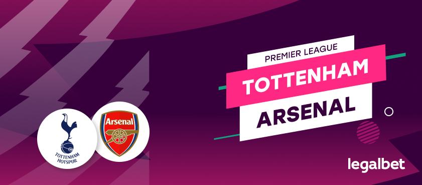 Apuestas y cuotas Tottenham - Arsenal, Premier League 2020/21
