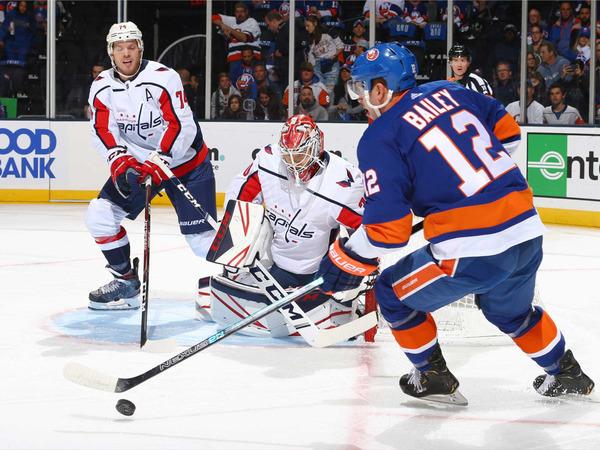 Максим Погодин: «Вашингтон» - Нью-Йорк «Айлендерс»: прогноз на матч НХЛ под звук бокалов с шампанским.