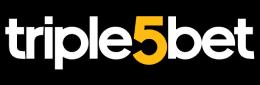 The logo of the bookmaker Triple5bet - legalbet.co.ke
