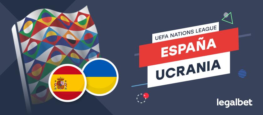 Previa, análisis y apuestas España - Ucrania, UEFA Nations League 2020