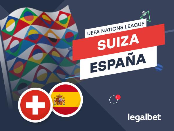 Antxon Pascual: Apuestas y cuotas Suiza - España, Nations League 2020.