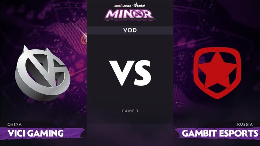 Прогноз на матч Vici gaming vs Gambit