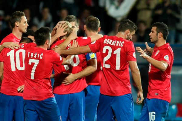 Сербия - Австрия 09.10.2016