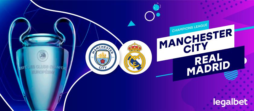 Previa, análisis y apuestas Manchester City - Real Madrid, Champions League 2020