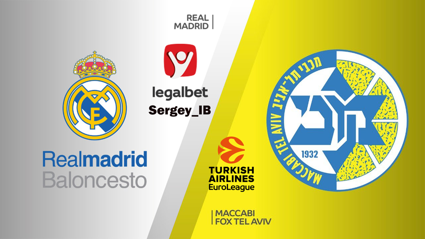 Баскетбол. Евролига. Реал Мадрид - Маккаби Тель-Авив (03.01.2019) / Анонс, прогноз