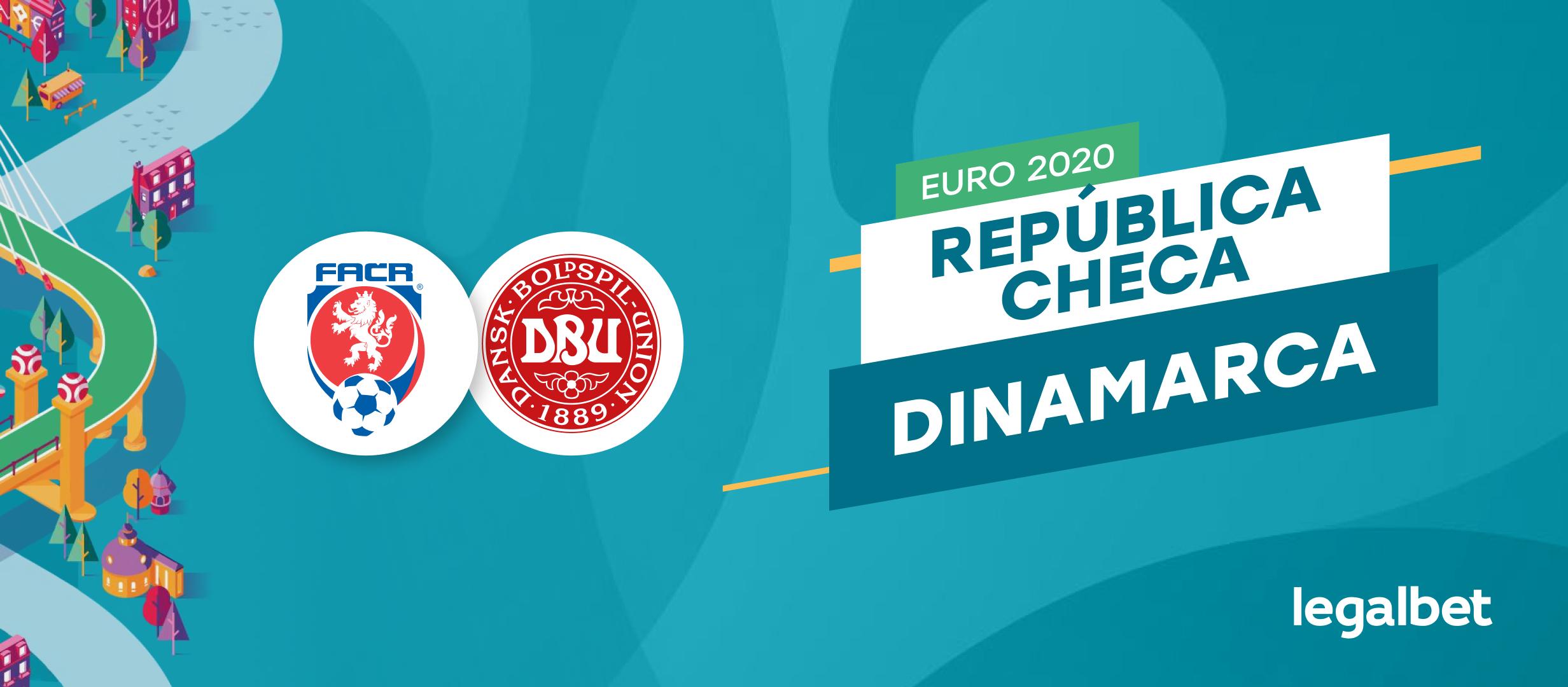 Apuestas y cuotas República Checa - Dinamarca, EURO 2020