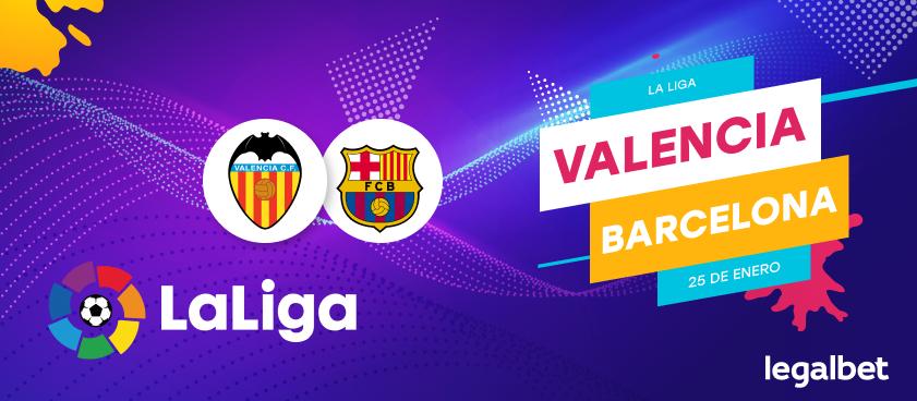 Previa, análisis y apuestas Valencia - FC Barcelona, La Liga 2020