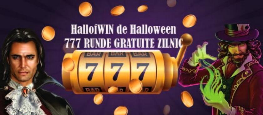 Revendica pana la 777 Runde Gratuite cu ocazia Halloween-ului