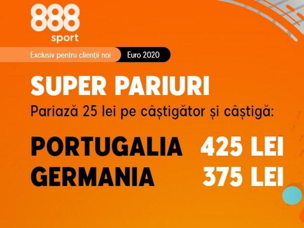 """legalbet.ro: Pe cine pariezi, pe Cristiano Ronaldo sau """"Nationalmannschaft""""? Acum e momentul să prinzi promoţiile 888 Sport!."""