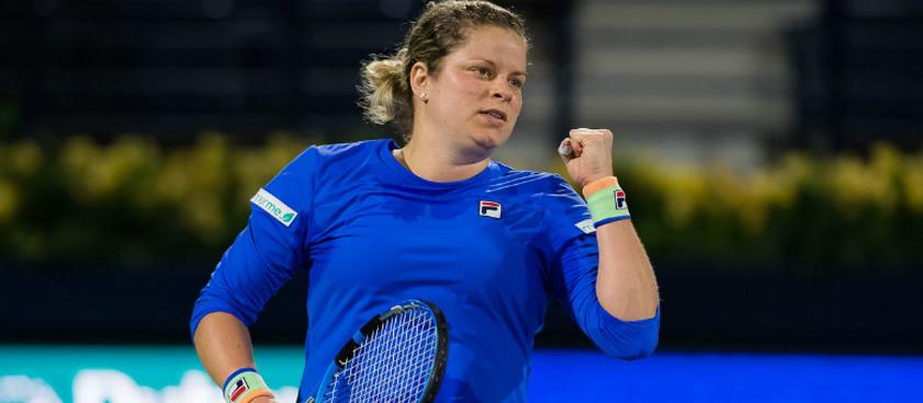 Прогноз на матч WTA Монтеррей Клийстерс – Конта: и снова Ким выйдет на корт