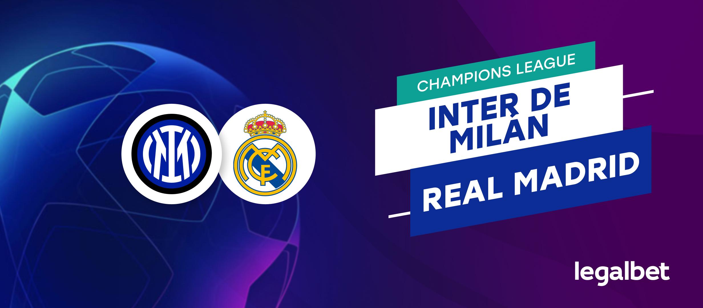 Apuestas Inter de Milán - Real Madrid