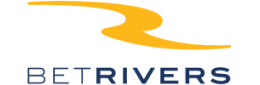 The logo of the sportsbook BetRivers - legalbet.com