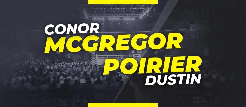 McGregor vs Poirier: Previsão, Mercado de Apostas e Odds no UFC 264