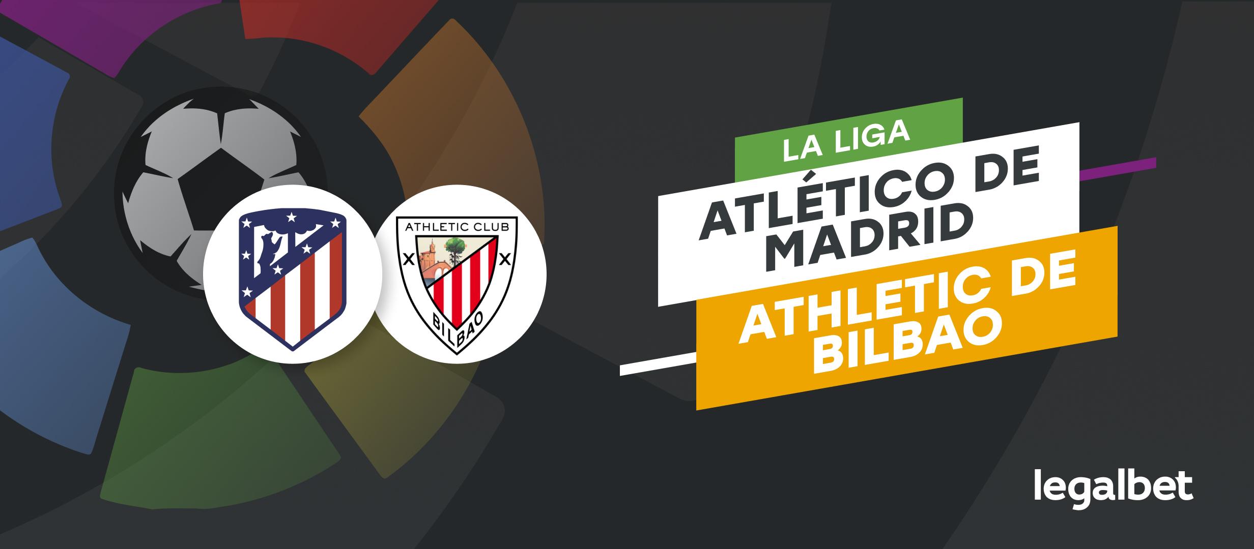 Apuestas y cuotas Atlético de Madrid - Athletic, La Liga 2021/22