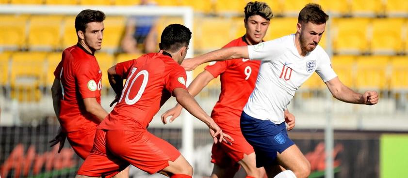 Ucraina U19 - Turcia U19. Pontul lui Paul