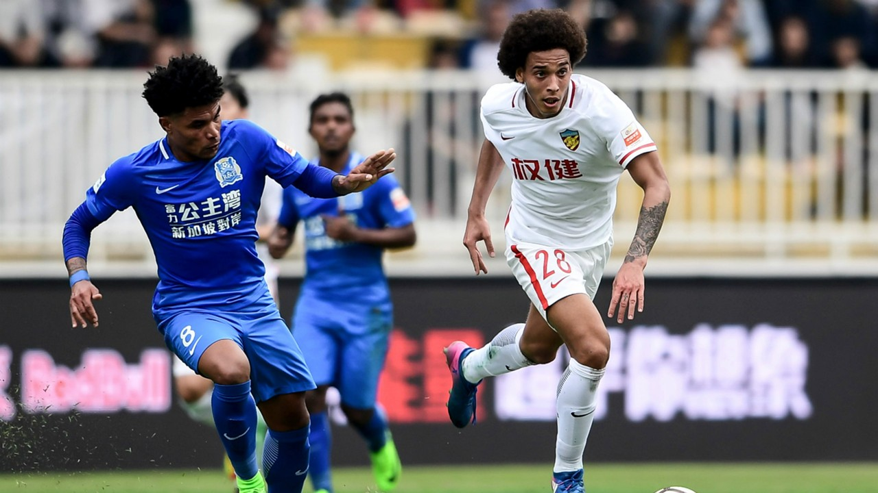 "Goulart ""contra"" Cannavaro, Tianjin - Guanghou Evergrande"