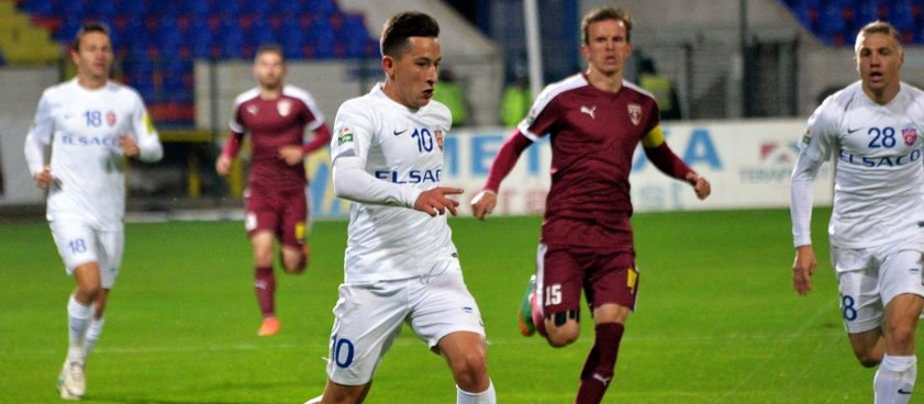FC Voluntari - FC Botoșani (play-out). Pontul lui Karbacher
