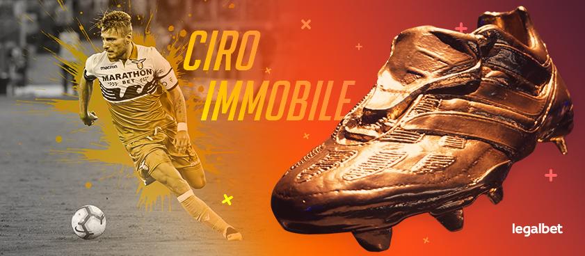 Ciro Immobile, el goleador generoso