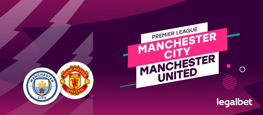Manchester City - Manchester United, cote la pariuri, ponturi şi informaţii