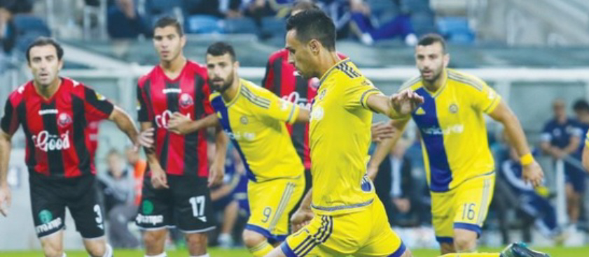 Radnicki - Maccabi Tel Aviv. Pontul lui rossonero07